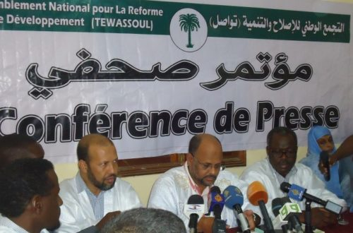 Article : «On peut interdire Tawassoul, mais pas ses idées»