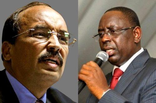 Article : Après Rabat, l'axe Nouakchott-Dakar s'embrouille