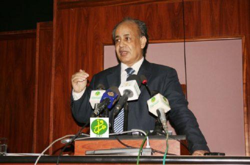 Article : Dr.Moulaye Mohamed Laghdaf : «Le dialogue va démarrer bientôt et permettra de consolider l'unité nationale »
