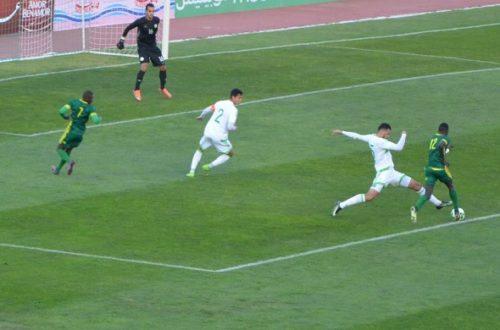 Article : Match amical Mauritanie-Algérie (1-3) : les Mourabitounes succombent à la malédiction du «Dernier quart »