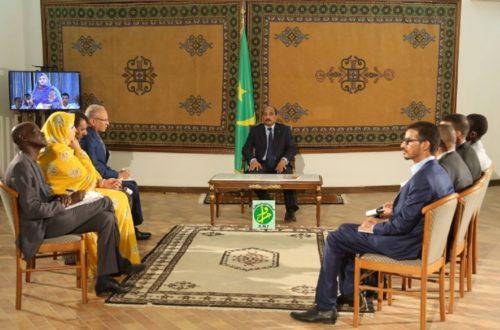 Article : Mohamed Abdel Aziz face à la presse : des dégâts collatéraux dans la charnière présidentielle