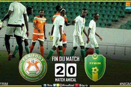 Article : Amical Mauritanie-Niger  (0-2) : Le MENA ramène les Mourabitounes sur terre