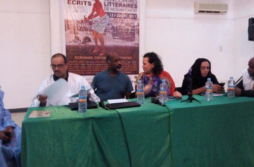 Article : Festival Traversées Mauritanides : «peut-on parler de l'écriture de l'ailleurs ? »