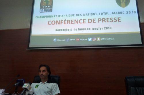 Article : CHAN 2018 : Corentin sort sa liste des 23, Ahmed Yahya recadre la presse
