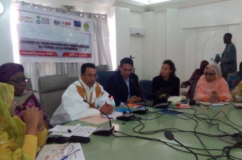 Article : Les femmes parlementaires mauritaniennes mobilisées contre la malnutrition