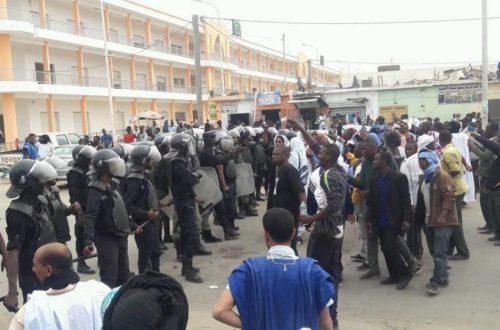 Article : Marche et répression contre IRA : le président Birame Dah Abeid interpellé par la police