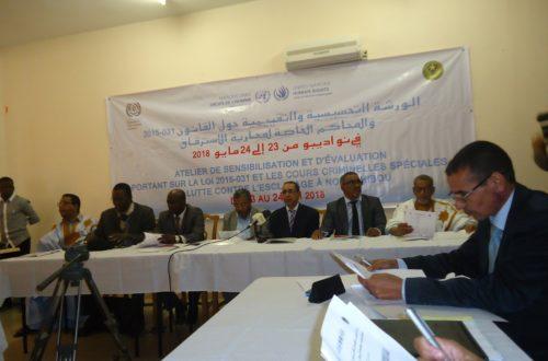 Article : Nouadhibou : Magistrats, OPJ et administrateurs des régions du Nord face à la loi 2015-031 incriminant l'esclavage