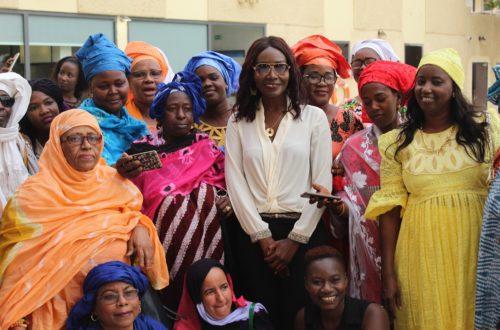 Article : Coumba Gawlo Seck à la rencontre du mouvement associatif féminin mauritanien