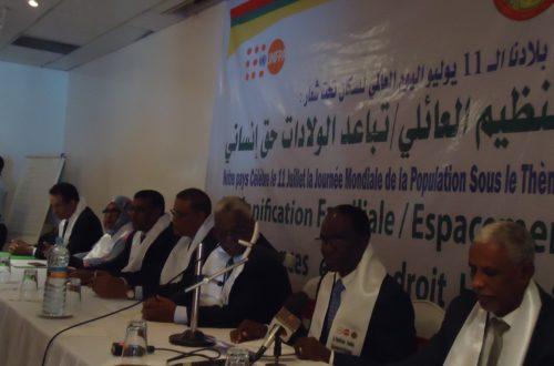 Article : La Mauritanie célèbre la Journée mondiale de la Population sous le thème de la planification familiale