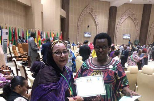 Article : Mme Seyide Mint Yenge se distingue parmi les invitées de Kagamé à Nouakchott