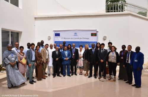 Article : Premier comité de pilotage du partenariat UE – HCR sur le projet « Renforcement de la résilience des populations déplacées par l'instabilité au Nord du Mali et soutien à la coexistence pacifique entre communautés » en Mauritanie.
