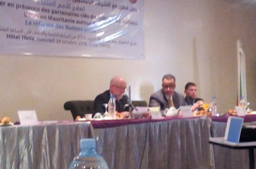 Article : La nouvelle réforme du Système des Nations Unies expliquée au cours d'un petit-déjeuner à Nouakchott
