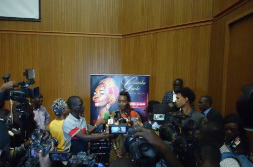 Article : Coumba Gawlo présente son nouvel album «Terrou War » à Dakar