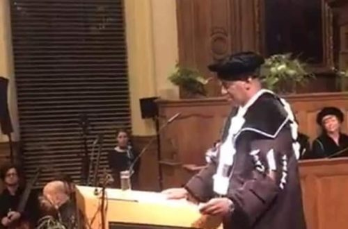 Article : Birame Dah Abeid, Docteur Honoris Causa de l'Université de Leuven en Belgique