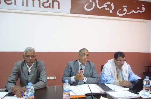 Article : Les experts mauritaniens à l'école des changements climatiques