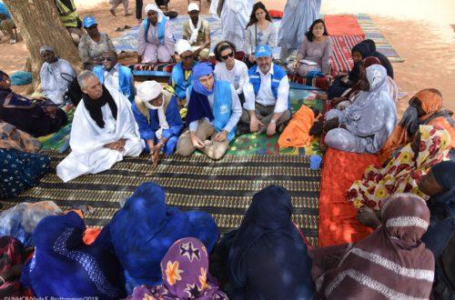 Article : « L'avenir du Mali passe aussi par le camp de Mbera » Volker Türk, Haut Commissaire adjoint chargé de la protection du HCR, visite les réfugiés en Mauritanie