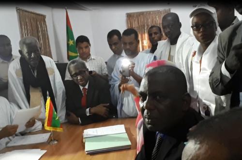 Article : Présidentielle 2019, cent-vingt deux conseillers municipaux dont six maires cautionnent la candidature de  Birame Dah Abeid