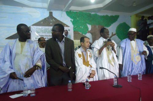 Article : Chbih Cheikh Mélaïnine et le Front Populaire rejoignent Kane Hamidou Baba et la CVE