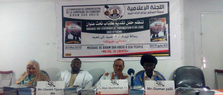 Article : Birame Dah Abeid appelle à une campagne électorale solidaire entre les opposants