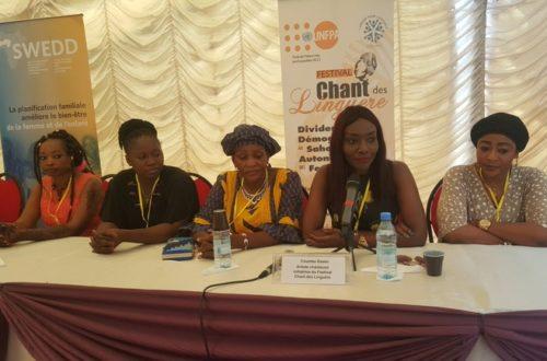 Article : Forum sur le dividende démographie, l'autonomisation des femmes et des filles, l'artiste Coumba Gawlo donne le ton