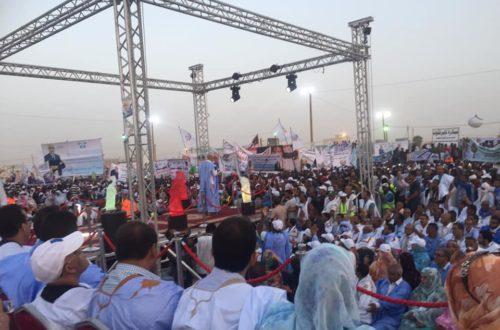 Article : Ould Ghazouani choisit la fin de sa campagne électorale pour s'attaquer à ses adversaires