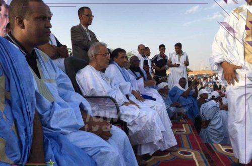 Article : De Nouadhibou, à la fin de sa campagne, Ould Maouloud promet de recoller les morceaux brisés de la Mauritanie
