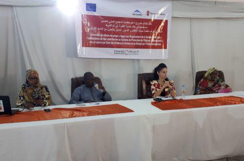 Article : Save The Children clôt un projet d'appui aux OSC de protection de l'enfance