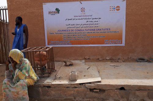 Article : Afriyan Mauritanie et UNFPA offrent aux habitants pauvres de Dar-Beida, deux journées de consultations gratuites