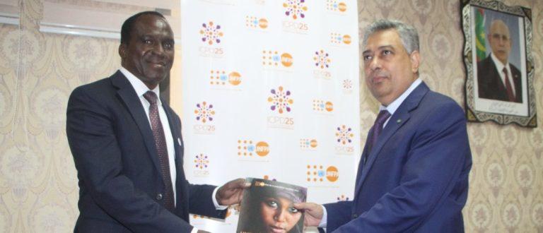 Article : Le Représentant Résident UNFPA au Ministre de l'Economie et de l'Industrie : «Je salue l'engagement du gouvernement, à travers la Déclaration de Politique Générale du Premier Ministre en faveur de la santé de la mère et de la jeune fille»
