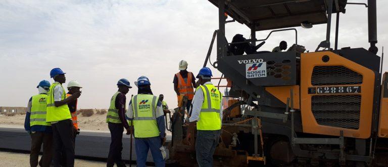 Article : Route Nouakchott-Rosso, SOGEA SATOM promet la livraison en 2020