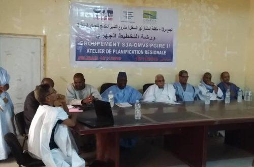 Article : Projet PGIRE II, le Guidimagha compte éradiquer les maladies tropicales à l'horizon 2020