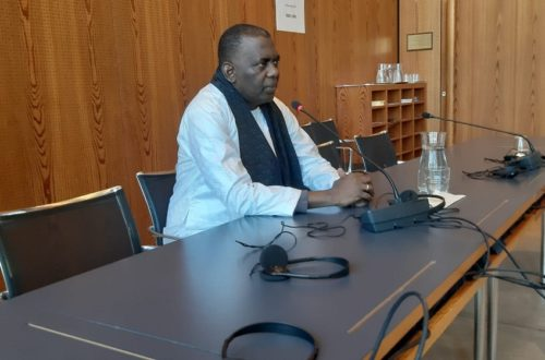 Article : Birame Dah Abeid face à l'Union Internationale des Parlementaires à Genève