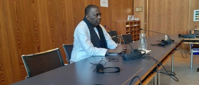 Article : Birame Dah Abeid face à l'Union Internationale des Parlementaires à Genève