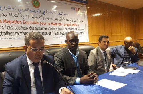 Article : La Mauritanie et les données sur la migration internationale du Travail