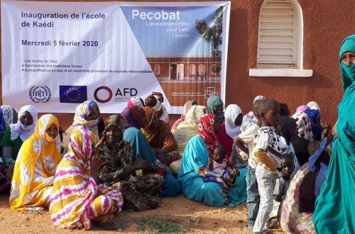 Article : PECOBAT livre ses premières écoles construites en matériaux locaux sur financement de l'Union Européenne et l'Agence Française de Développement