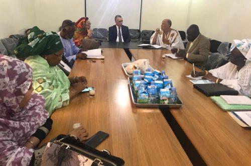 Article : La Mauritanie D'Abord, hôte du président de la Commission Nationale des Droits de l'Homme