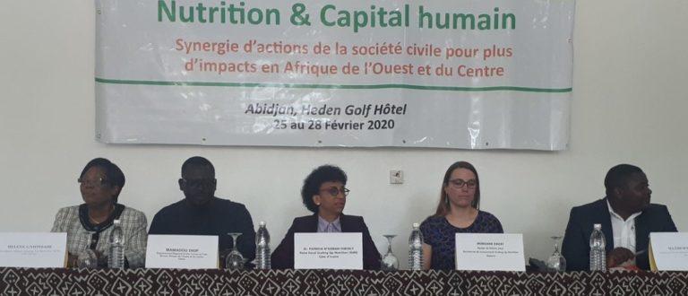 Article : La Malnutrition, ce tueur silencieux qui a mobilisé depuis Abidjan la société civile SUN en Afrique de l'Ouest, du Centre et Madagascar