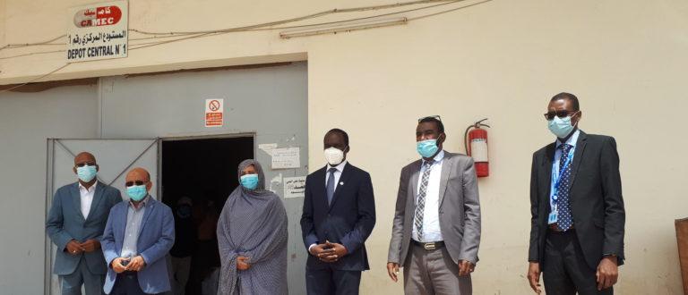Article : Le Représentant Résident de l'UNFPA satisfait des performances de la Centrale d'Achat des Médicaments Essentiels, Matériels et Consommables Médicaux (CAMEC)