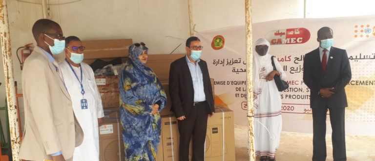 Article : Avec l'appui de l'UNFPA, la Centrale d'Achat des Médicaments renforce ses capacités logistiques