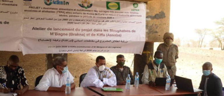 Article : OXFAM et ADIG volent au secours des populations vulnérables de l'Assaba