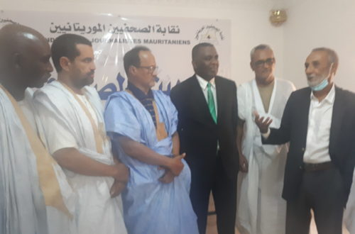 Article : Birame Dah Abeid, hôte du Syndicat des Journalistes de Mauritanie