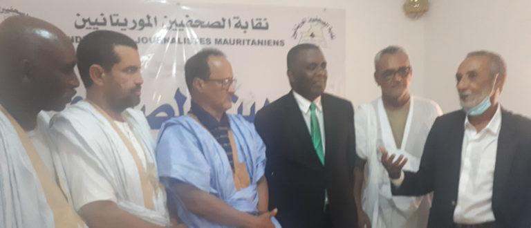 Article : Birame Dah Abeid, hôte du Syndicat des Journalistes de Mauritanie