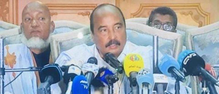 Article : Dans sa conférence de presse, Aziz attaque Ghazwani et lance un défi à la justice mauritanienne