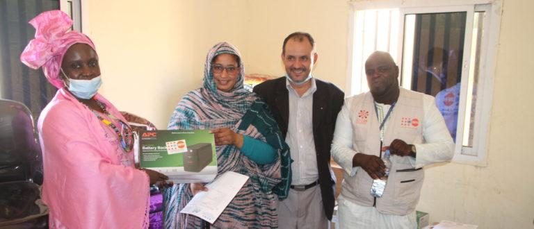 Article : Violences basées sur le Genre (VBG) : les Affaires sociales équipent les trois brigades des mineurs de Nouakchott