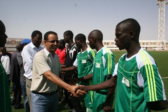 Ahmed Ould Yahya, candidat à la Confédération Africaine de Football (CAF).