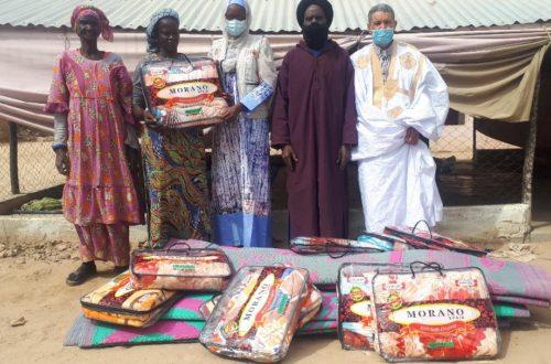 Article : Les dons de l'UNFPA chez les cultivateurs de Fass et de Médina Salam