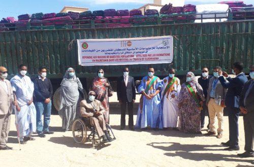 Article : 5.800 kits au profit de populations sinistrées du Trarza et du Guidimagha