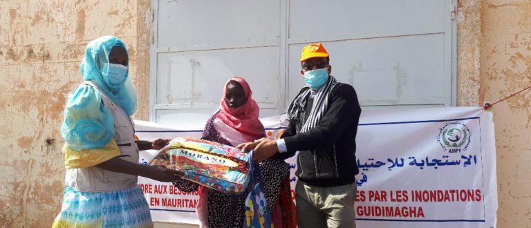 Article : Un geste humanitaire pour 2.500 familles victimes d'inondation à Sélibaby