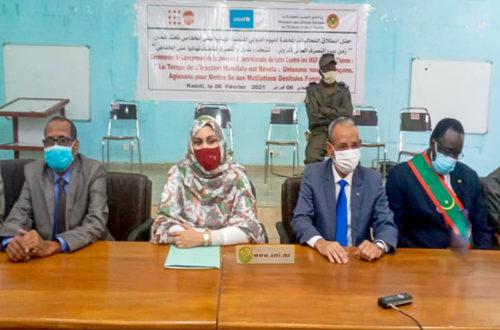 Article : Journée internationale Tolérance zéro MGF, une chute de plus de 10% en Mauritanie