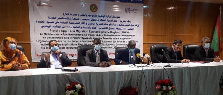 Article : Protéger les travailleurs migrants depuis et vers la Mauritanie, de la convention 143 aux lois nationales